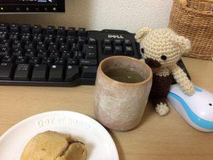 緑茶とクマ