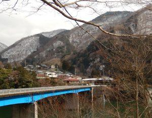 丹沢湖雪景色
