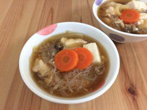 あんかけスープ